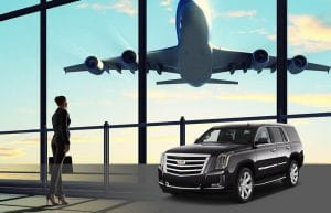 airport transportation with escalade