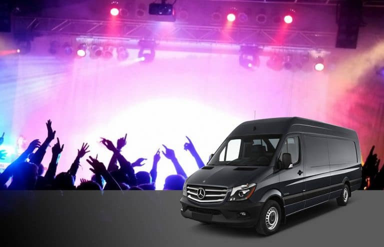 sprinter for concert or night out
