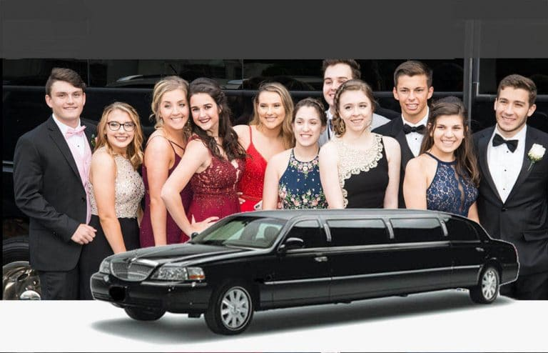prom with va executive sedan and limousine