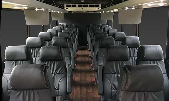 32 passenger bus interior