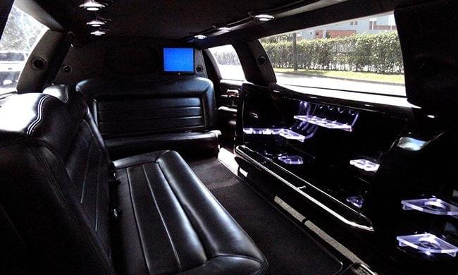 stetch limo interior