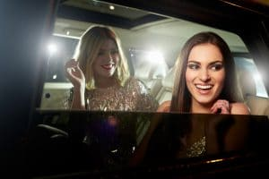 hire a private chauffeur for your night out on the town