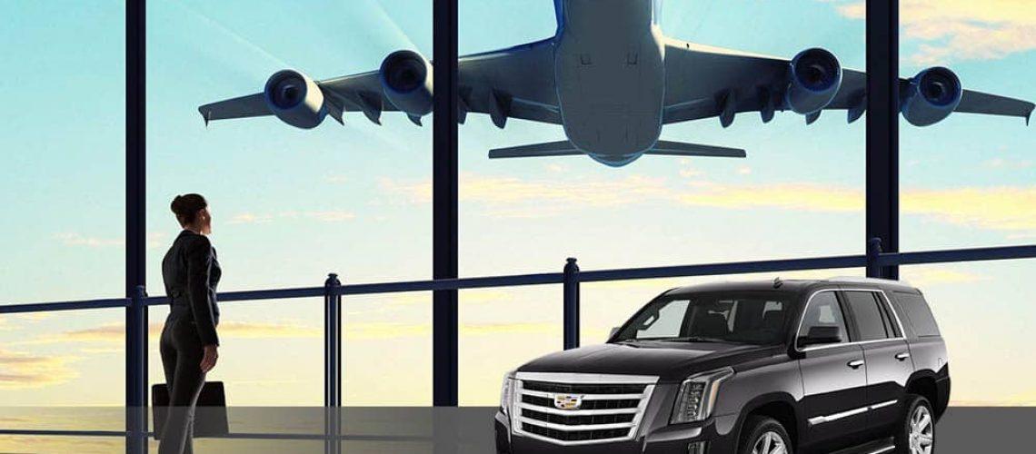 airport transportation with escalade