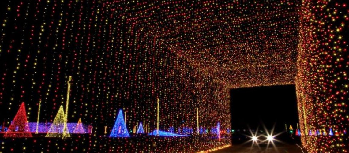 hire a private chauffeur for the famous holiday lights tour